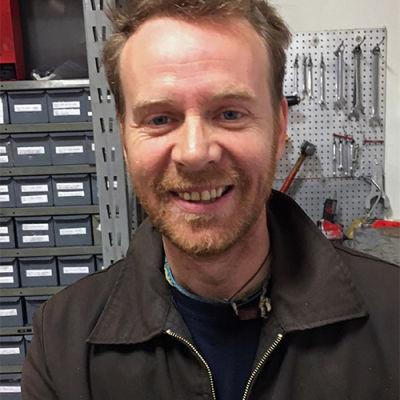 Steven Parfery, Director of Service